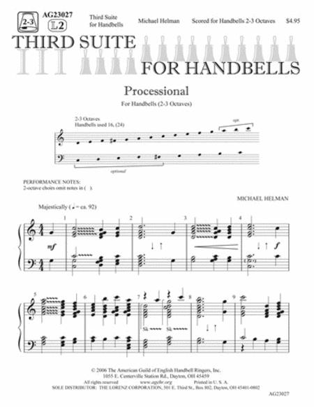 Third Suite for Handbells