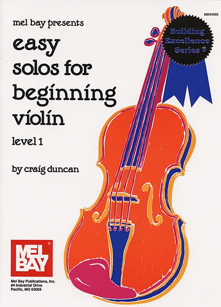 Easy Solos for Beginning Violin - Level 1