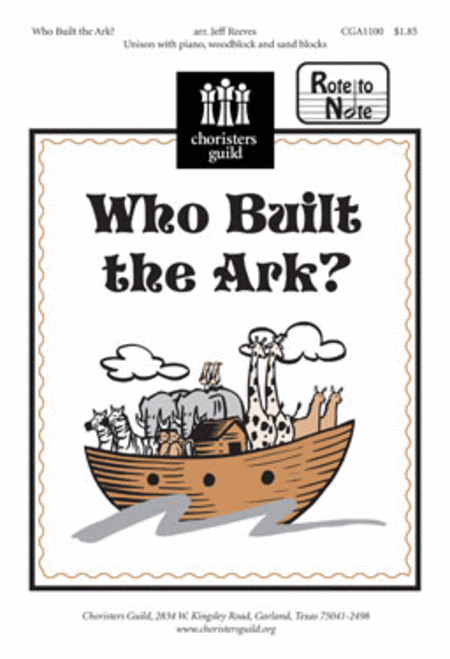 Who Built the Ark?