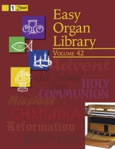 Easy Organ Library, Vol. 42