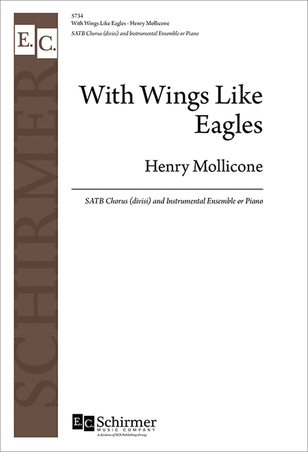 With Wings Like Eagles (Choral Score)