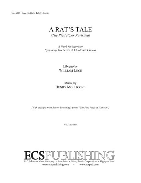 A Rat's Tale (Libretto)