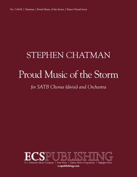 Proud Music of the Storm (Piano/Choral Score)