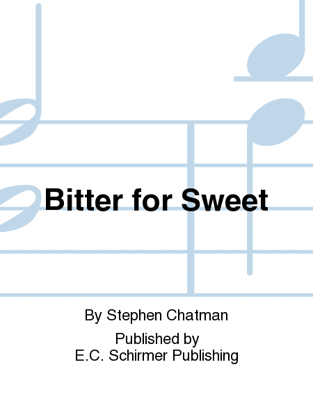 Bitter for Sweet