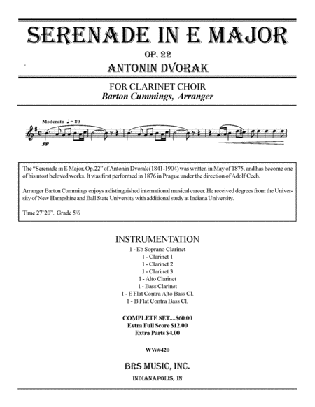Serenade in E Major, Op. 22