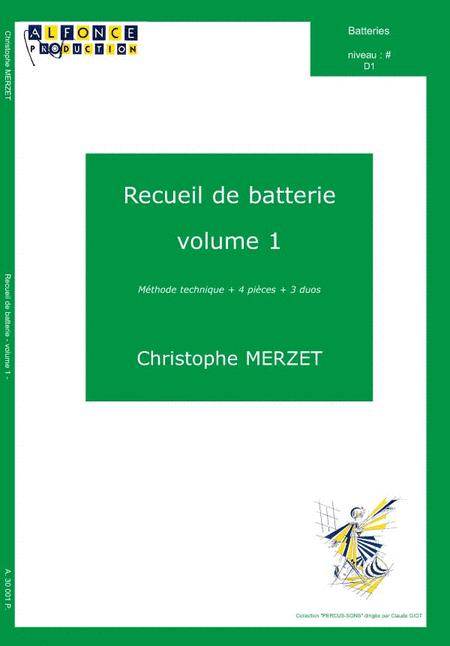 Recueil de batterie - Volume 1