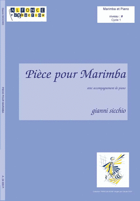 Piece pour Marimba