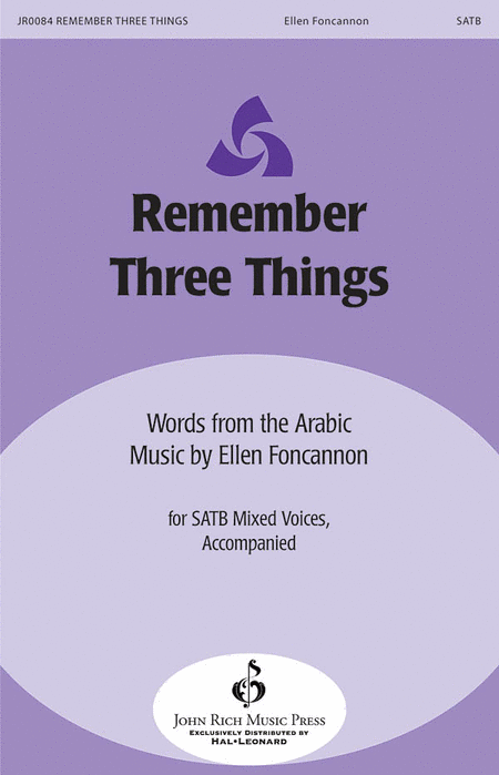 Remember Three Things