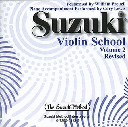 Suzuki Violin School CD, Volume 2 - CD only