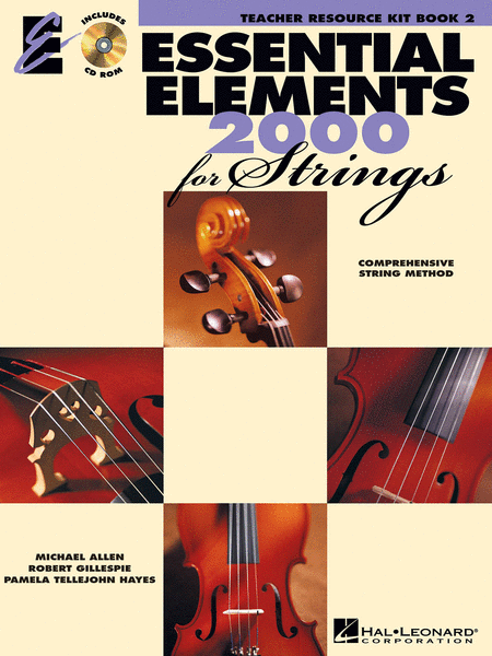 Essential Elements 2000 for Strings - Book 2 (Teacher Resource Kit)