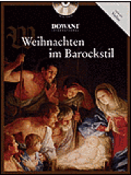 Weihnachten Im Barockstil Violin/piano Book/CD (easy)
