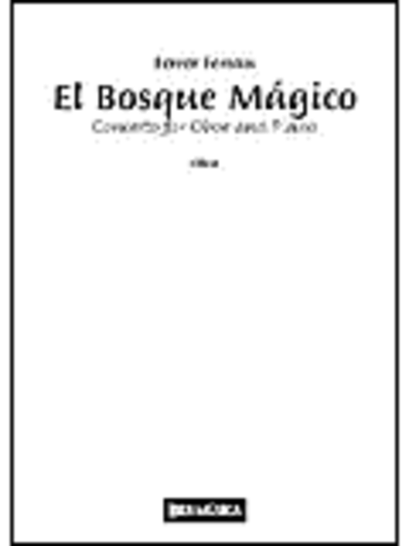 El Bosque Magico Concerto For Oboe And Piano (advanced)