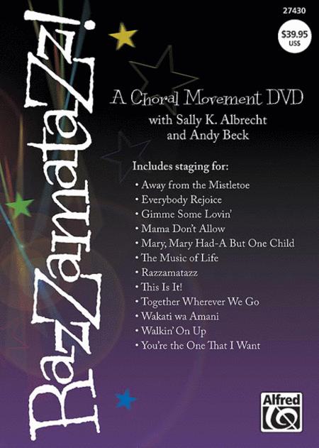 Razzamatazz! A Choral Movement DVD