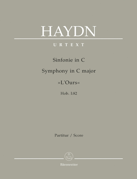 Symphony C major Hob. I:82 'LOurs'