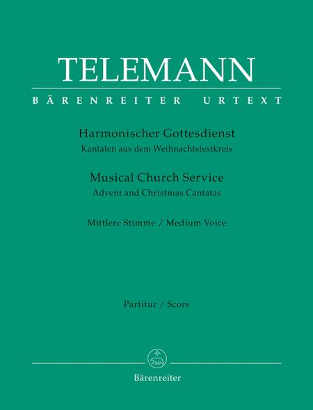 Harmonischer Gottesdienst / Musical Church Service - Volume 4 (score only)