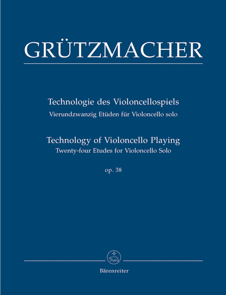 Technology of Violoncello Playing, Op. 38