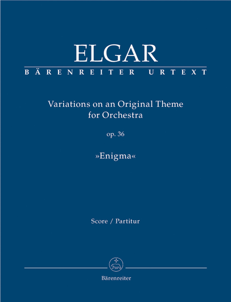Variations on an Original Theme for Orchestra op. 36 'Enigma'