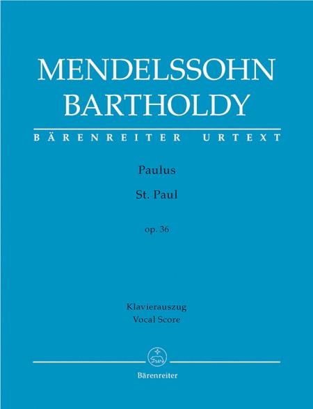 St. Paul, Op. 36