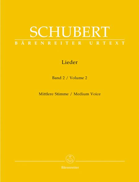 Lieder, Volume 2