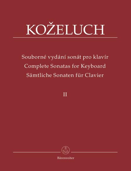 Samtliche Sonaten fur Clavier II