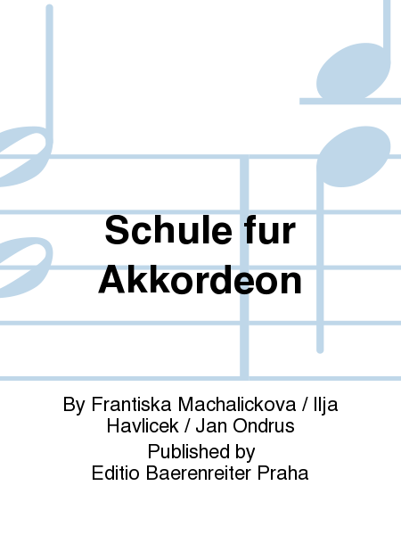 Schule fur Akkordeon