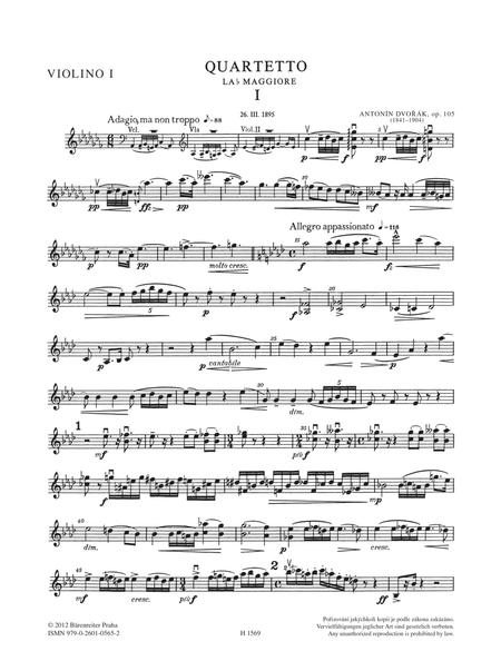 String Quartet No. 14 A flat major, Op. 105