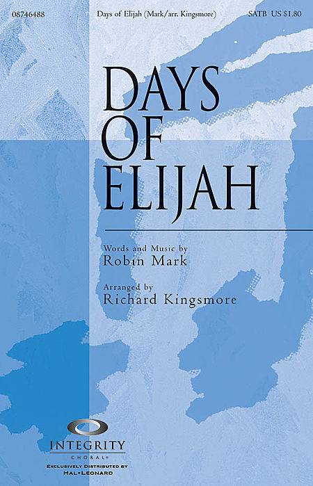Days of Elijah - Accompaniment CD