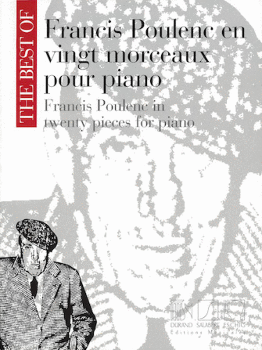The Best of Francis Poulenc in Twenty Pieces for Piano