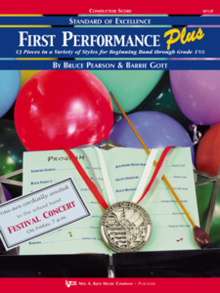 Standard of Excellence: First Performance Plus-Conductor's Score