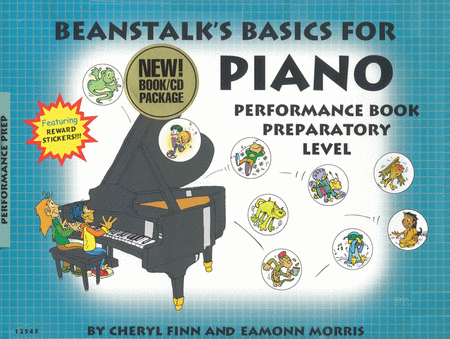 Beanstalk's Basics for Piano - Performance Book, Prep Level A & B (Book/CD)