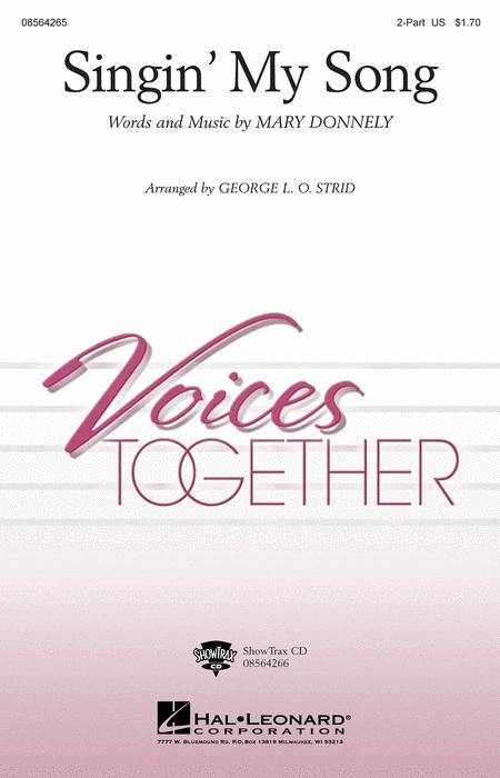Singin' My Song - ShowTrax CD