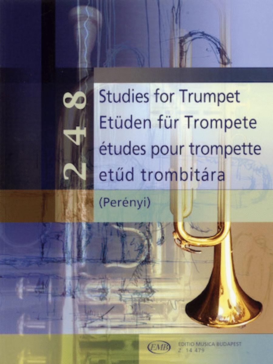 248 Studies for Trumpet
