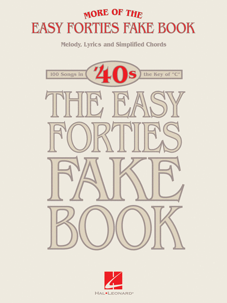 More of the Easy Forties Fake Book