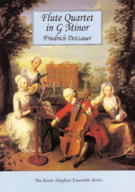 Flute Quartet in G minor Op 29 - Score