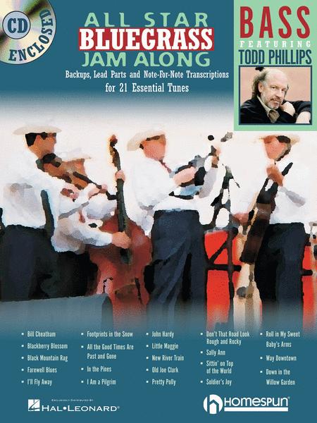 All Star Bluegrass Jam Along for Bass