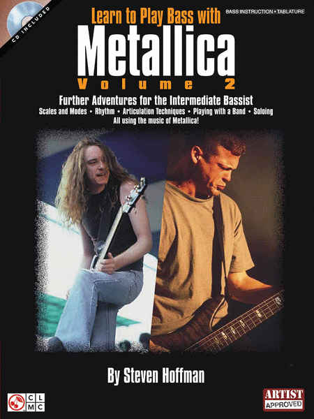 Learn to Play Bass with Metallica - Volume 2