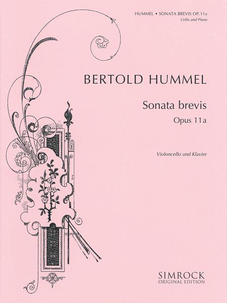 Sonata brevis, Op. 11a