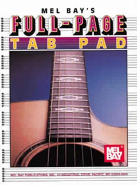 Full-Page Tab Pad