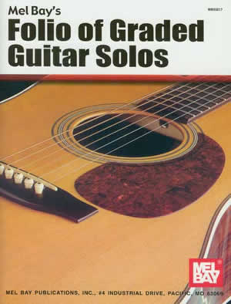 Folio of Graded Guitar Solos