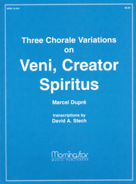 Veni, Creator Spiritus (Chorale Variations)