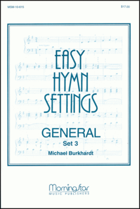 Easy Hymn Settings- General: Set 3