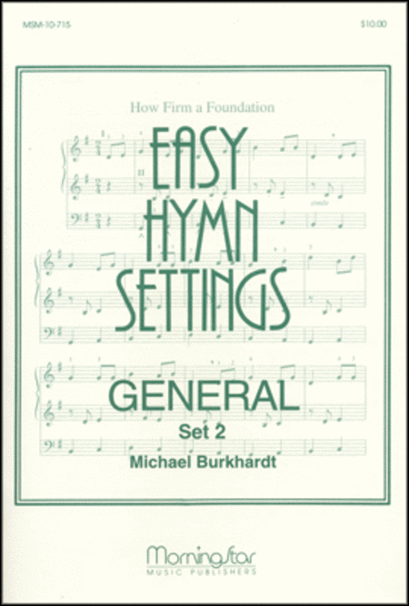 Easy Hymn Settings-General: Set 2