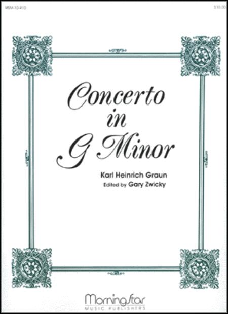 Concerto in G Minor