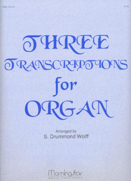 Three Transcriptions