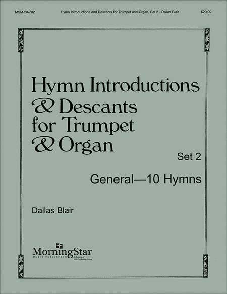 Hymn Introductions and Descants for Trumpet and Organ - Set 2