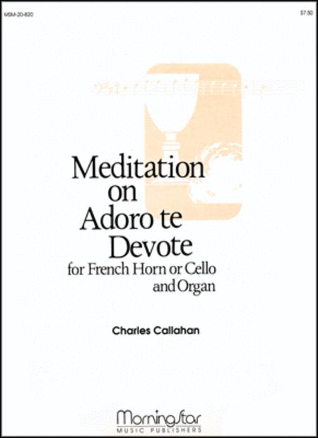 Adoro te Devote (Meditation)