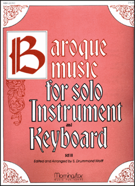 Baroque Music for Solo Instrument & Keyboard, II