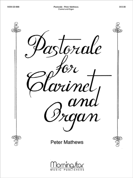 Pastorale for Clarinet and Organ
