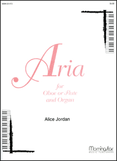 Aria for Oboe or Flute and Organ