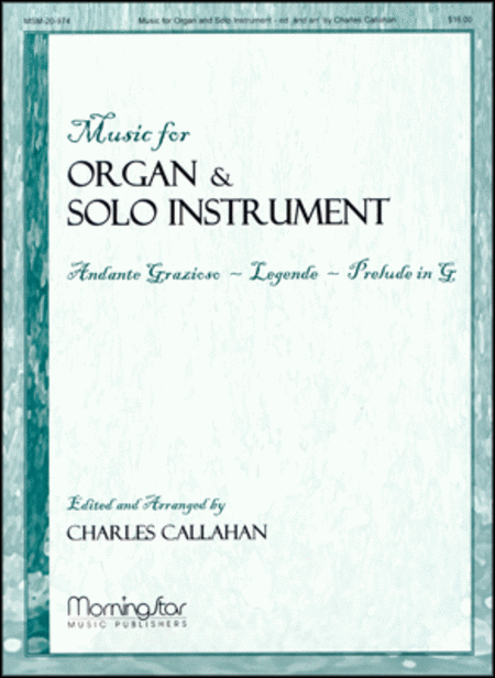 Music for Organ and Solo Instrument, Set 1